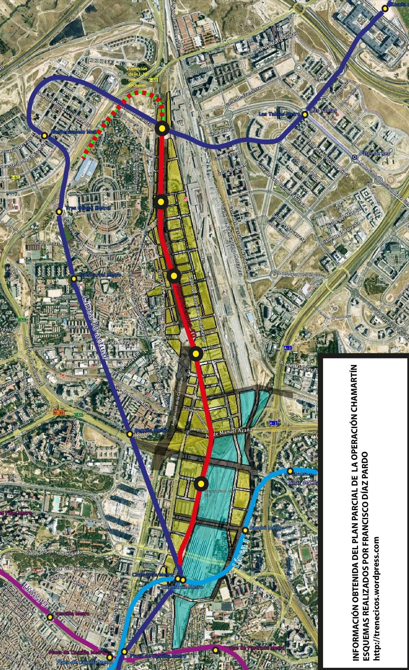 La ampliacin Lnea 10 de Metro de Madrid de la Operacin